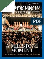 AUD Newsletter Summer 2012