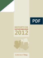 Concha y Toro Reporte Sustentabilidad 2012 .pdf