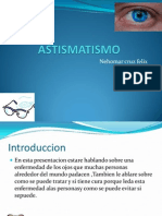 ASTISMATISMO