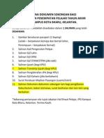 Sen. Dokumen Sokongan Bagi Posting