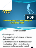 Understand and Preparing Evidence Plan