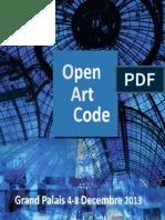 OpenArtCode Paris 2013