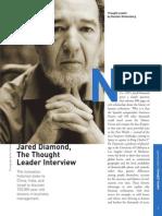 Jared Diamond Interview