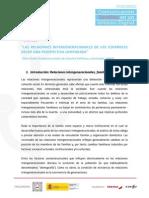 Las relaciones intergeneracionales entre los españoles desde una perspectiva comparada de Elisa Chuliá.