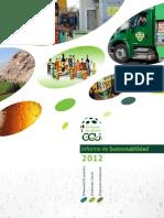 CCU Informe de Sustentabilidad 2012