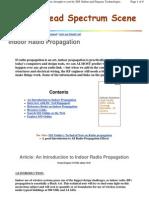 An Introduction to Indoor Radio Propagation