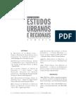 A forma urbana como problema de desempenho
