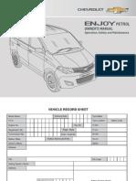 Car Manual Enjoy Petrol