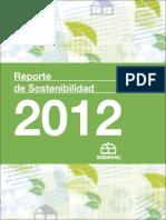 Sodimac Reporte Sostenibilidad 2012