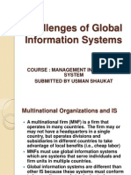Challenges GIS BY USMAN SHAUKAT