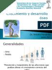 Crecimiento y desarrollo óseo AF