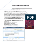 Information Search Assiment Report