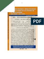 Libro completo El Investigador del Peru por Daniel Morán 2007