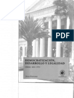 Faundez Democratizaci n Desarrollo y Legalidad