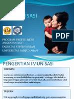 Peer Teaching Puskesmas Garuda Kelompok 3 - Imunisasi