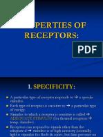 Lect.3, Properties of Receptors (2)