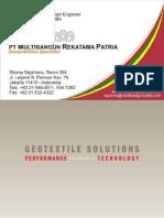 Brosur Geotex Propex