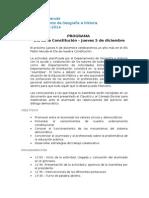 Programa de Actividades Día de la Constitución 2013
