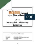 2014 Metropolitan Guidelines