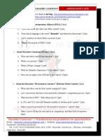 2013 Harambe Cameroon Ambassadors' Quiz