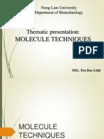 Molecule Techniques