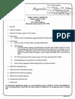 City of Santa Fe Resolution for Lobbying Priorities