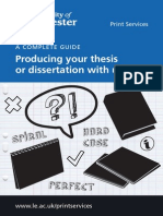 Print Services Dissertation Guide