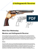 Mershon and Hollingsworth Revolver