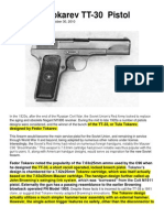 The Tula Tokarev TT-30 Pistol