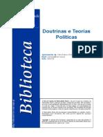 Doutrinas e Teorias Politicas