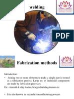 Fabrication Methods(Welding)