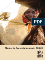 ACNUR - Manual de Reasentamiento
