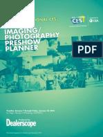 2014 International CES Digital Imaging/Photography Preshow Planner