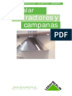Instalacion de Extractor y Campanas