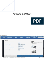 Router and Switch overview