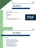 Task Analysis April2013