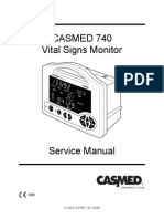 Casmed 740 - Service Manual
