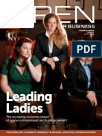Open For Business magazine - December13/January 14 Issue
