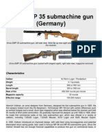 Erma EMP 35 Submachine Gun (Germany)