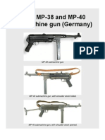 Erma MP-38 and MP-40 Submachine Gun (Germany)