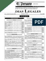 Decreto Supremo 028-2003 RTKN
