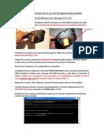 Instrucciones Reset Samsung SCX 3200 NUEVO Serial
