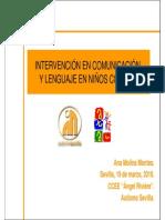 Intervencinencomunicacinylenguajeennioscontea Anamolinamontes Autismosevilla 110512122019 Phpapp01