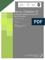 Tutorial de Instalación de Sistema y Servicios en Lenny Debian 5