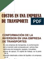 Costos en Una Empresa de Transporte