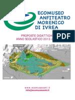 Ecomuseo Didattico di Ivrea PROPOSTE DIDATTICHE  ANNO SCOLASTICO 2012-2013