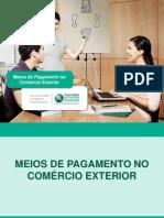 Finanças Internacionais aula 10 Meios de pagamentos