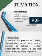 Motivation Presentation Skillsdd