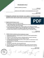 Subiecte Scoala nationala a grefierilor, octombrie 2013