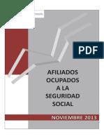 Afiliados Seguridad Social España